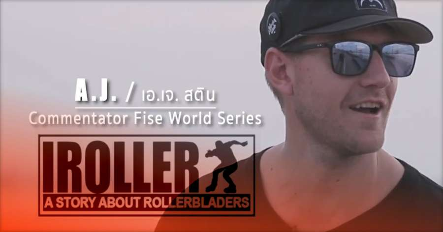 Documentary: IROLLER - A Story About Rollerbladers (2017, Thailand) with Jeerasak Tassorn, AJ Stine & Worapoj Note Boonnim