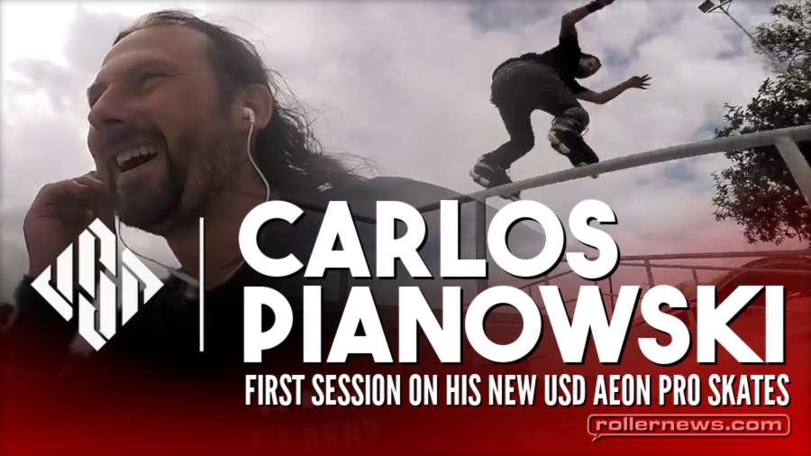 Carlos Pianowski - First Session on His New USD Aeon (2017) with Kalléo Hipolito, Ricardo Lino & Friends