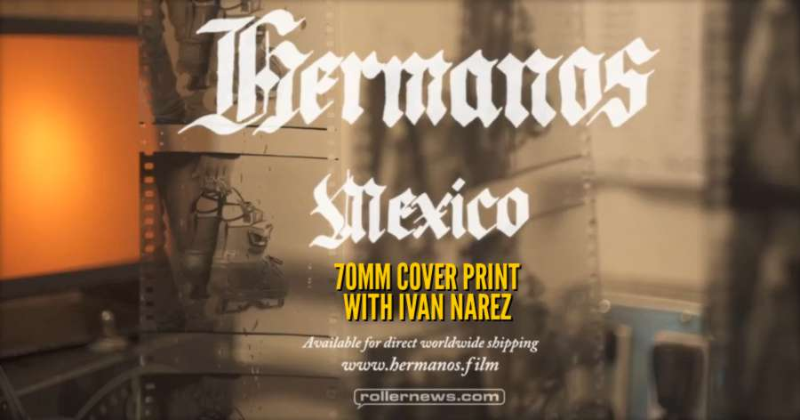 Hermanos - Behind the Scenes: 70mm Cover Print with Ivan Narez