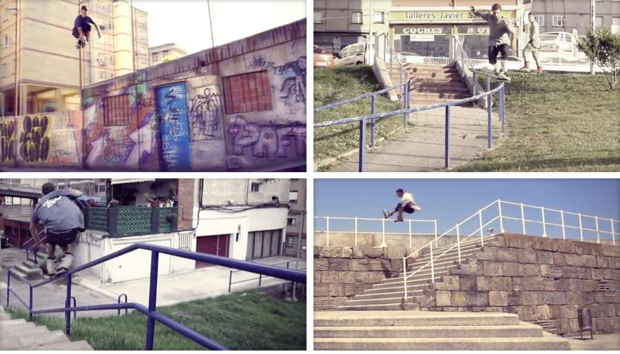 David Muñiz - 5 days with SL3 (2017) - Razors Spain, Street Edit