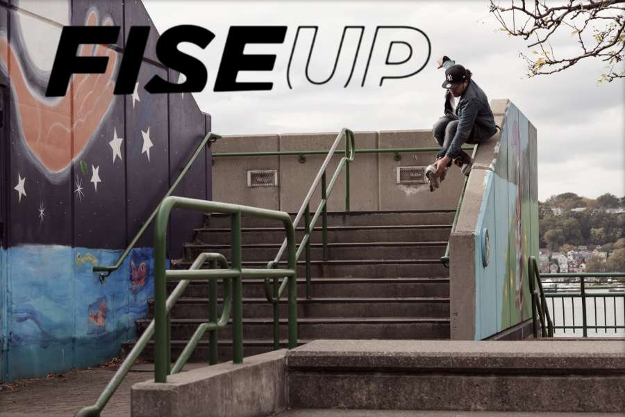 FISEUP - Issue 13 - NYC Article by Dominik Wagner, Starring James Perez