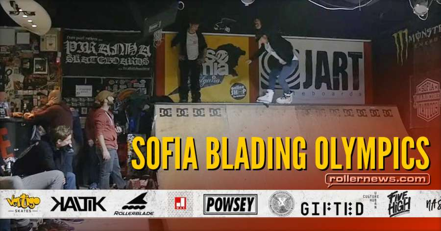 Sofia Blading Olympics 2017 (Bulgaria) - Official Edit by Avi Barouh