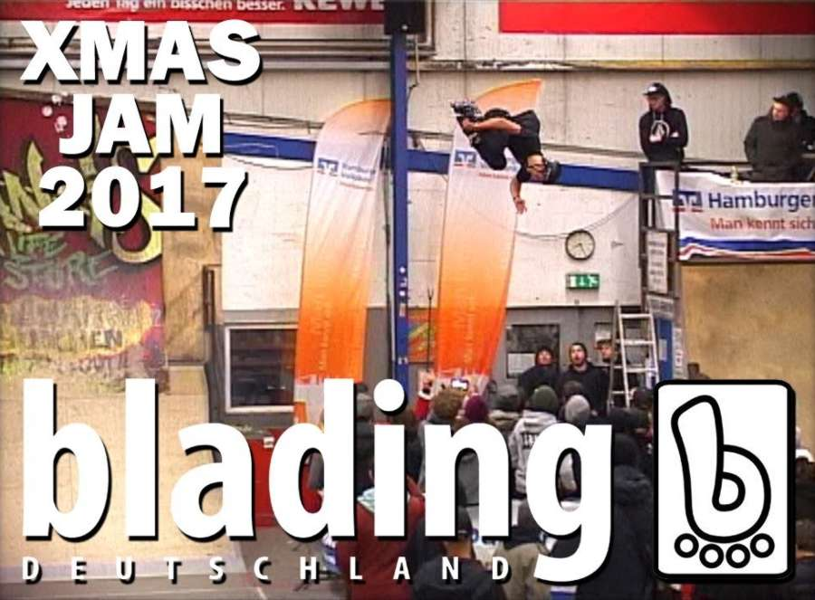 X-Mas Jam 2017 (Hamburg in Roh) - Blading Deutschland x Borklyn Zoo