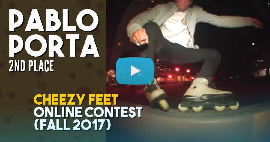 Pablo Porta - Cheezy Feet, Online Contest (Winter 2017) - 2nd Place