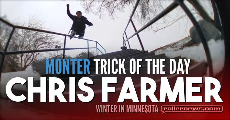 Clip of the day: Chris Farmer - Topsoul the Burnsville Center Kink