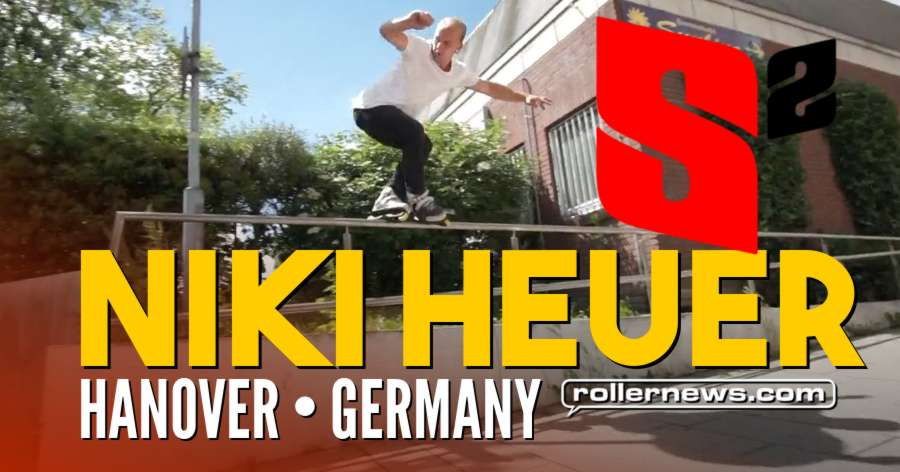 Niki Heuer (Germany) - 2017 Street Profile for Skate Solution