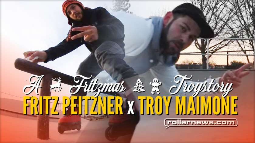 Fritz Peitzner and Troy Maimone - Don't Shoot Your Eye Out (2017) - X-Mas Park Session in Dallas (Texas)