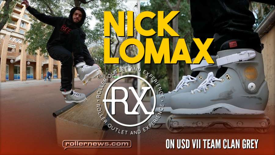 Nick Lomax on USD VII Team Clan Grey (BCN, 2017)