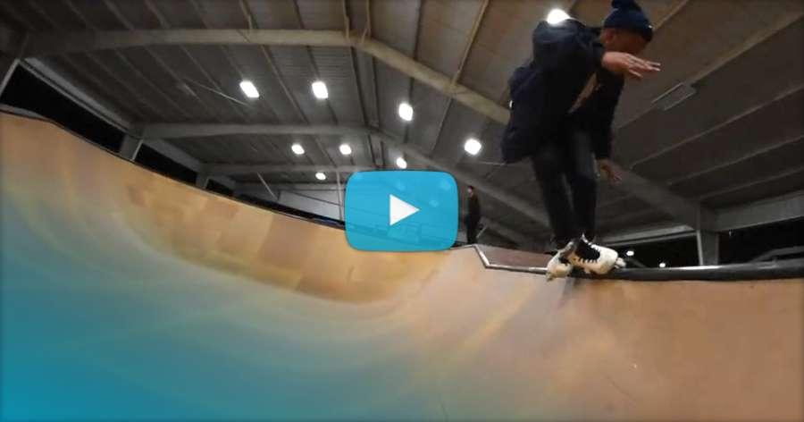 Jiovanni Brown - Skatepark Rollerblading Edit (2017) by Troy Maimone