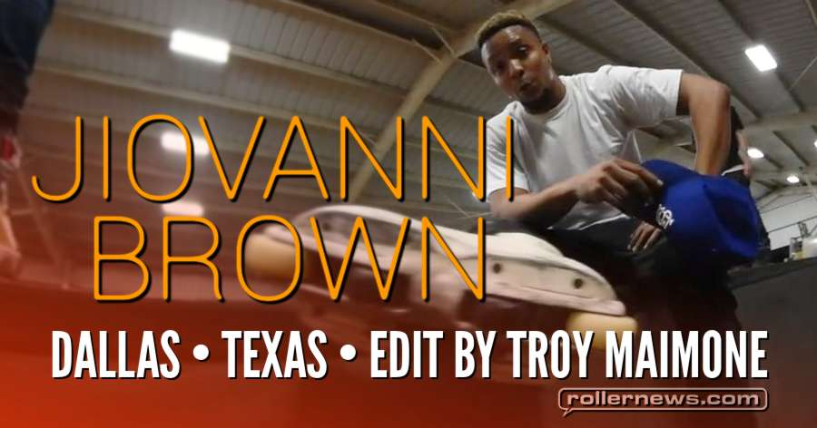 Jiovanni Brown - Skatepark Rollerblading Edit (2017) by Troy Maimone