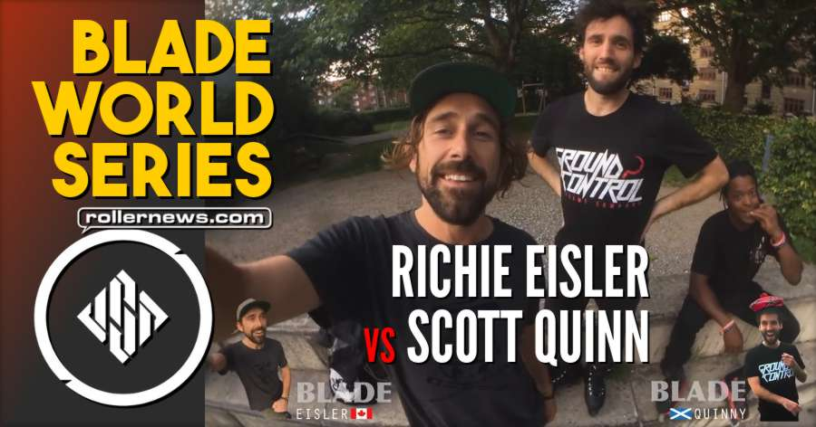 Blade World Series: Richie Eisler vs Quinny - USD Skates (2017)