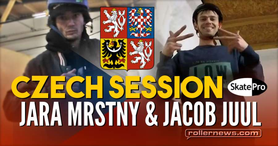 Jacob Juul & Jara Mrstny | Czech session (2018) for Skatepro