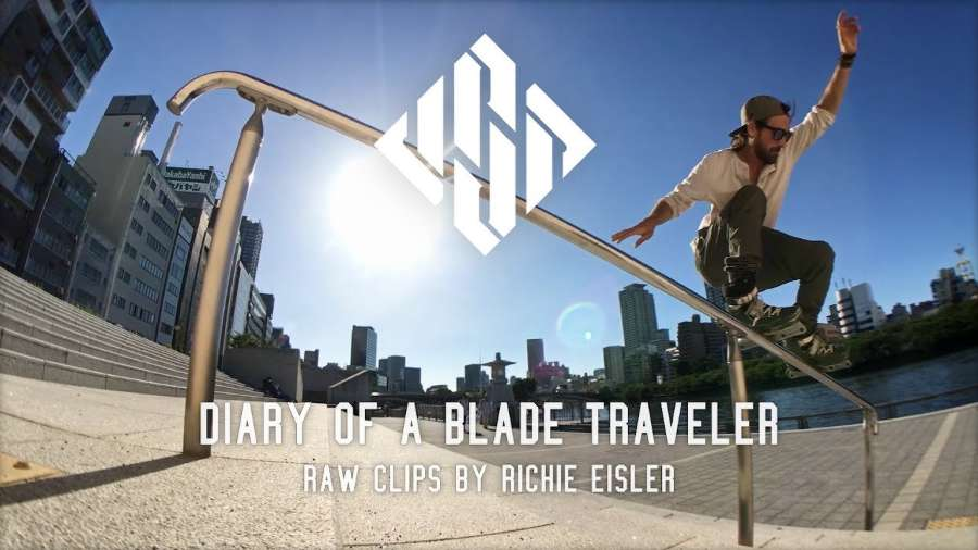 Diary of a blade traveler - raw clips by Richie Eisler - USD Skates