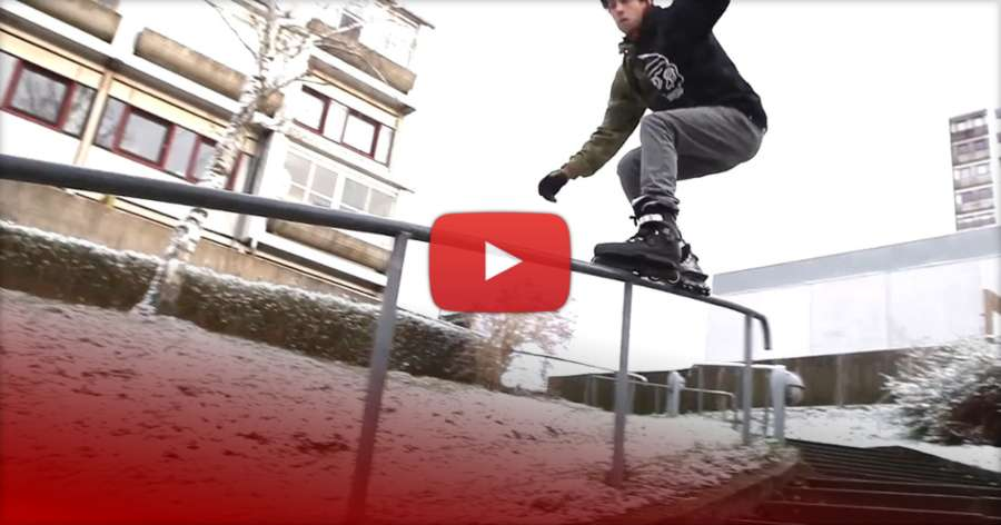 One Minute - Snow Edit with Jacob Juul (2017) by Julius Sonderhave