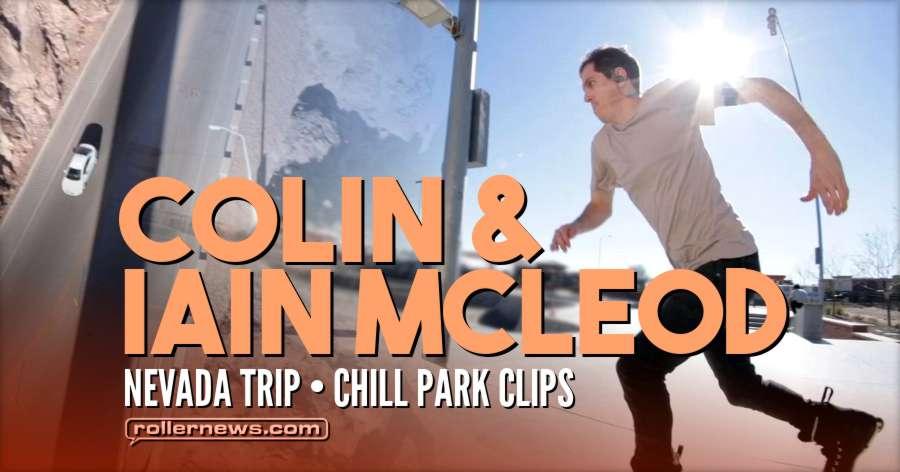 Colin and Iain Mcleod - Nevada Trip (January 2018)
