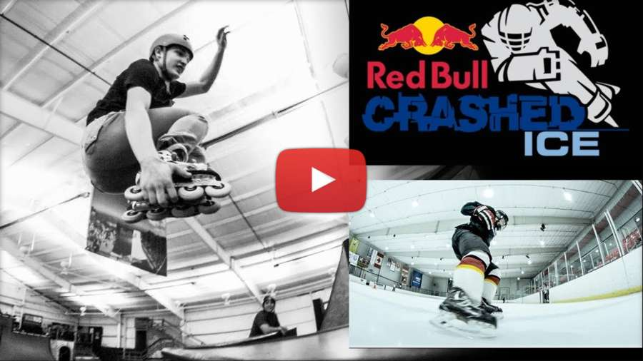 Johanny Velasquez - Training for the Redbull Crashed Ice (2018)