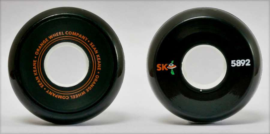 Orange Wheel Campany - Sean Keane First Pro Model Wheel (2018)