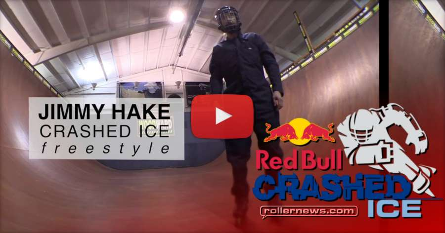 Jimmy Hake - Road to Redbull Crashed Ice, Freestyle Event (2018) by Cameron Card