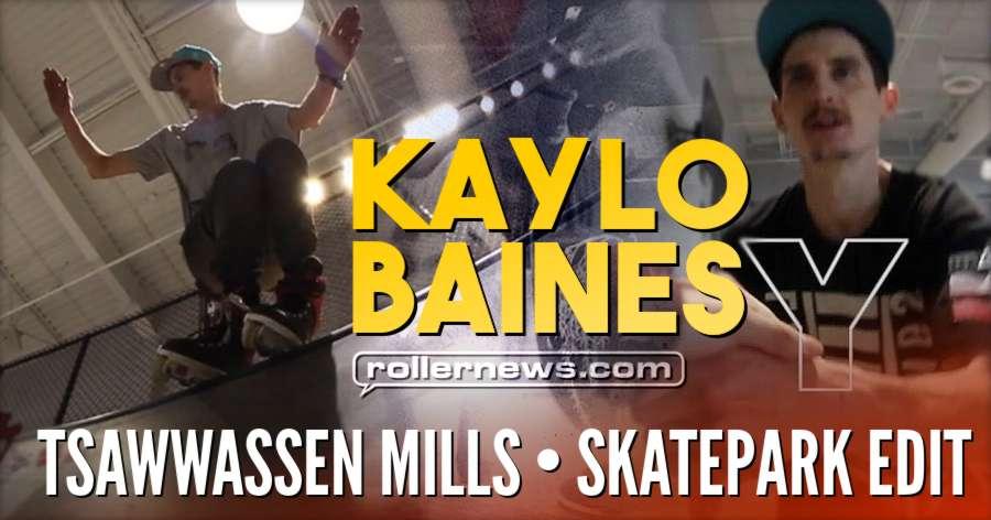 Kaylo Baines (Canada) - Tsawwassen Mills, Skatepark Edit (2018)