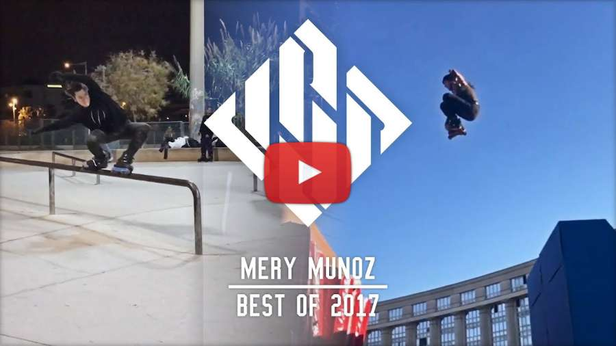 Mery Muñoz - Best of 2017 - USD Skates