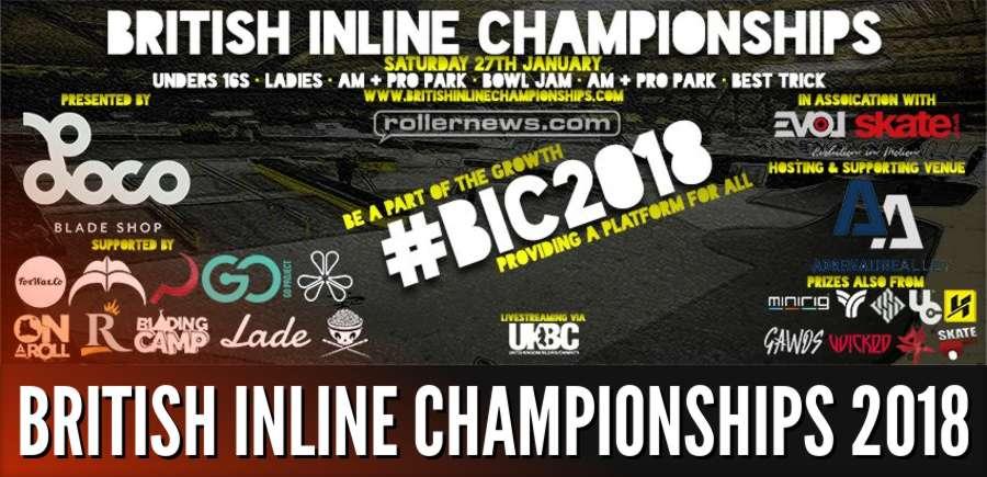 Dano Gorman - 2 Clips @ British Inline Championships 2018