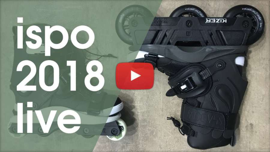 Presenting the USD Shadow Inline Skates at Ispo 2018
