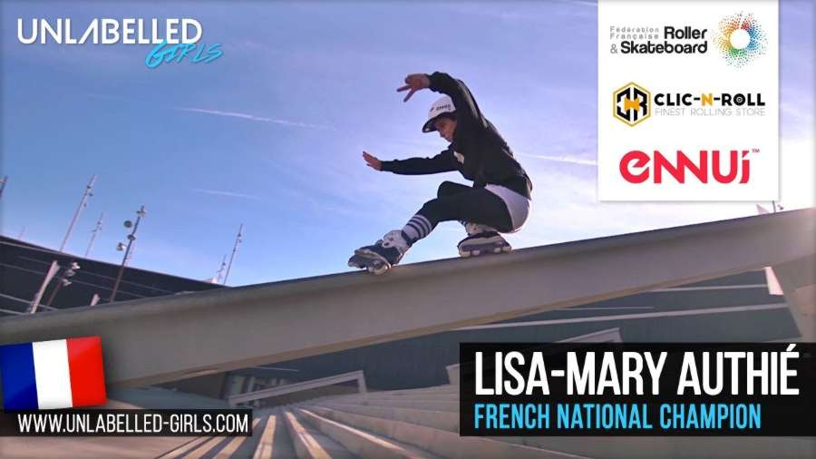 Lisa-Mary Authié (France) - Freeride and Street session in Barcelona (2018) - Unlabelled Media, Edit