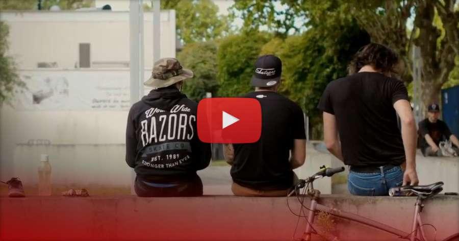 Nicolas Bernardo (Bordeaux, France) - Trigger Skates x Skatepro (2018) Street Clips by Leon Perrin
