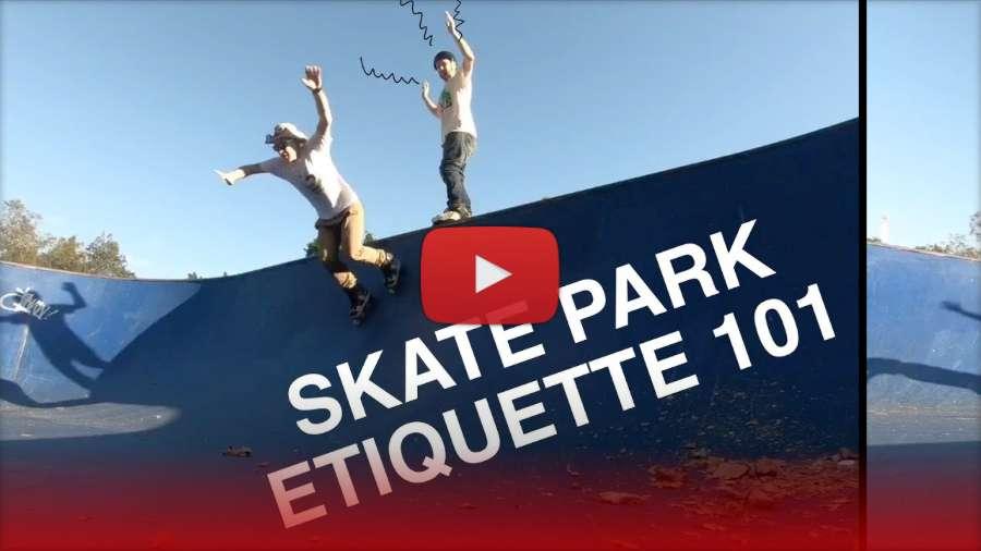 Skate Park Etiquette 101 by David Douglas Stuart