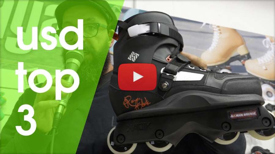 ISPO 2018: Top 3 USD 2018 Skates & presenting the G Boots, with Ricardo Lino