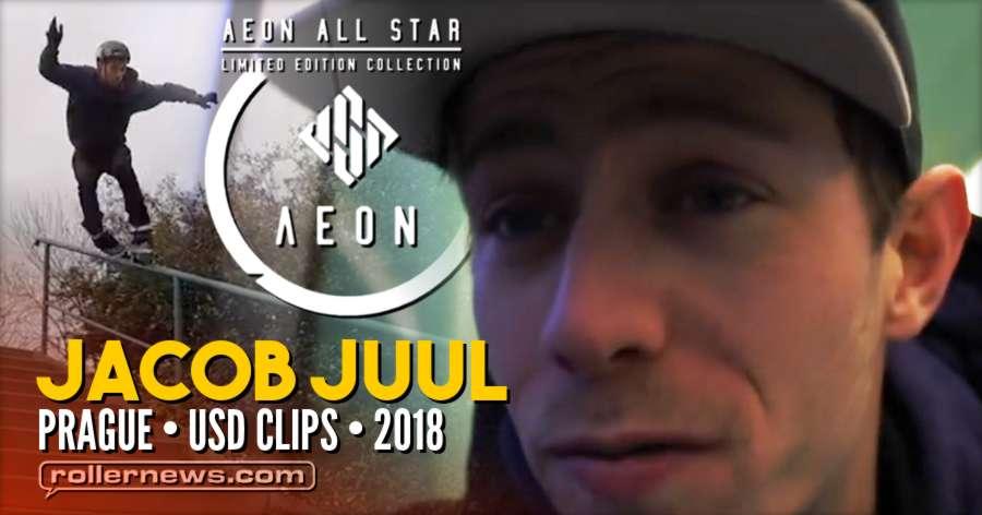 Jacob Juul in Prague (Czech Republic) - USD Aeon 60 Hooi skates - 2018 Clips