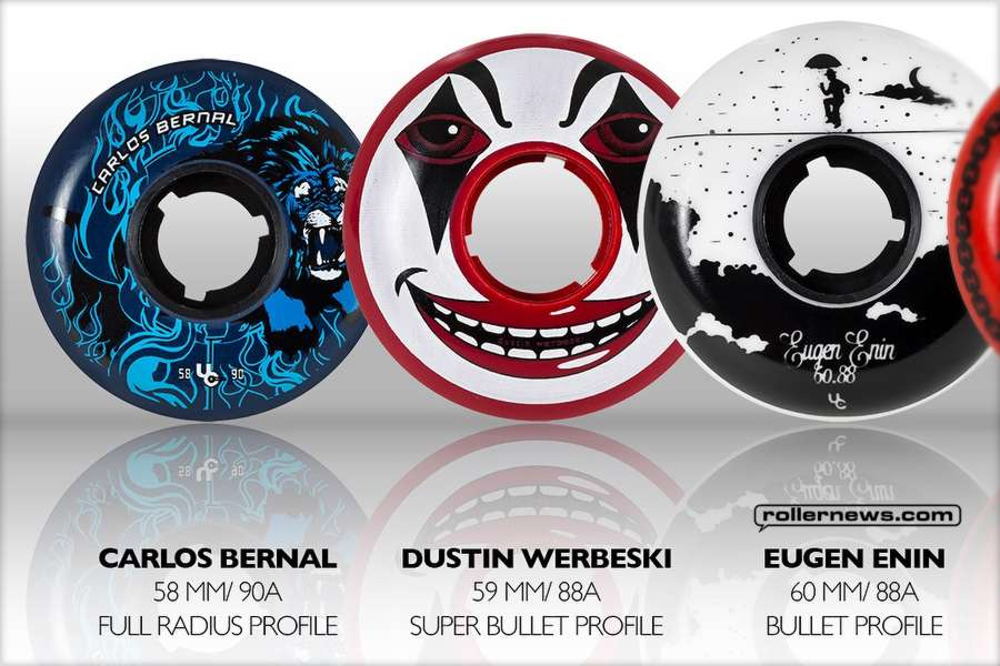 Carlos Bernal: 58mm 2nd Edition Pro wheel - Undercover Wheels Circus Line