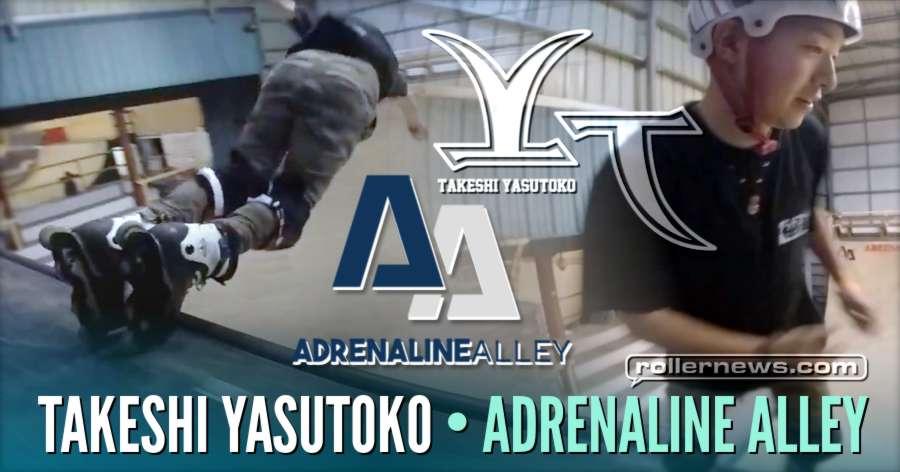Takeshi Yasutoko at Adrenaline Alley Skatepark (UK, 2018)