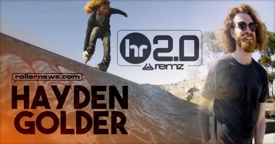 Hayden Golder REMZ HR 2.0 Skate (2018) by Brad Watson