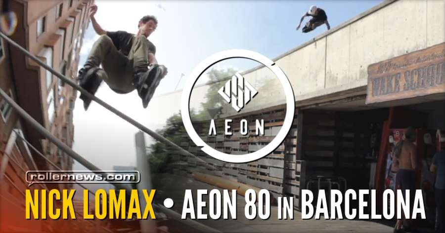 Nick Lomax - USD Aeon 80 in Barcelona (2018)