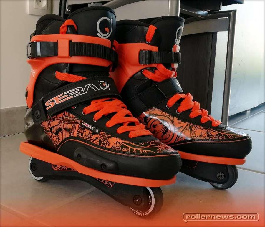 Customs of the day: Seba CJ Wellsmore - Orange and Black Custom by Olivet Mickael