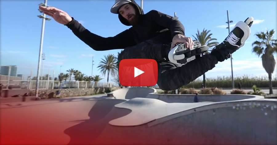 Danny Aldridge - Win Rollerblade New Jack Skates at Winterclash 2018 - Quick Park Session