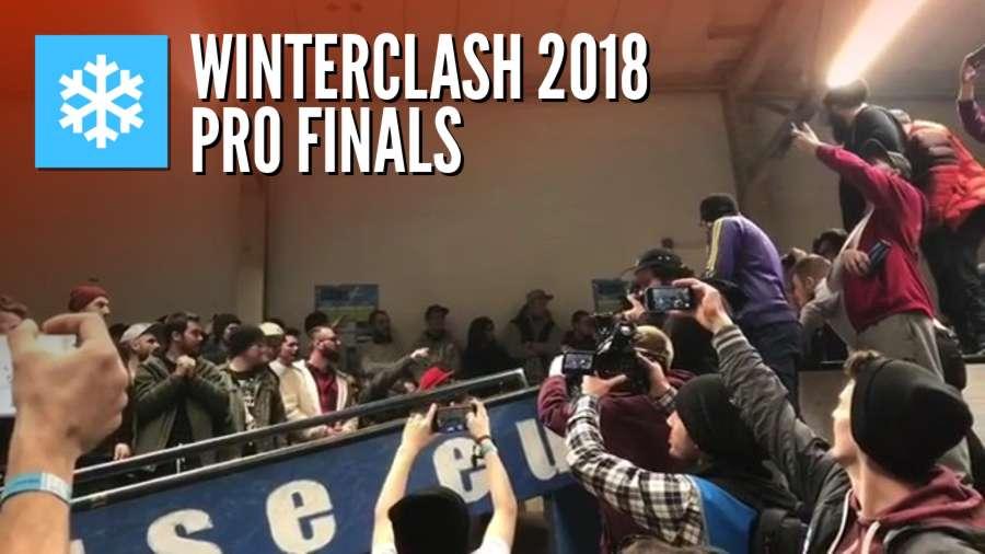 Winterclash 2018 Finals - Last Tricks (Pro, AM, Girls, Junior)