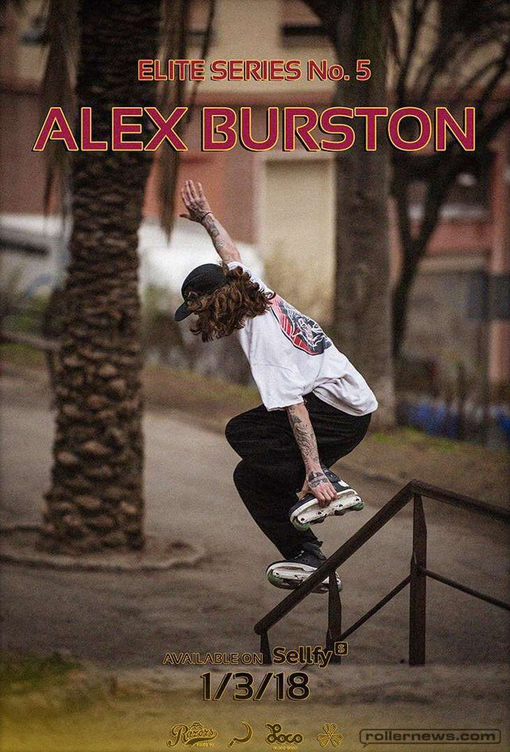 Alex Burston - Elite Series No. 5 by Jonas Hansson - Promo Poster