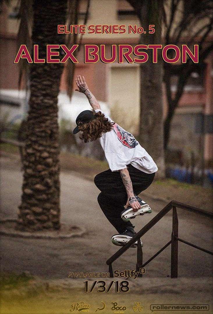 Alex Burston - Elite Series No. 5 by Jonas Hansson - Promo Poster