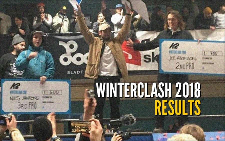 Winterclash 2018 - Full Results