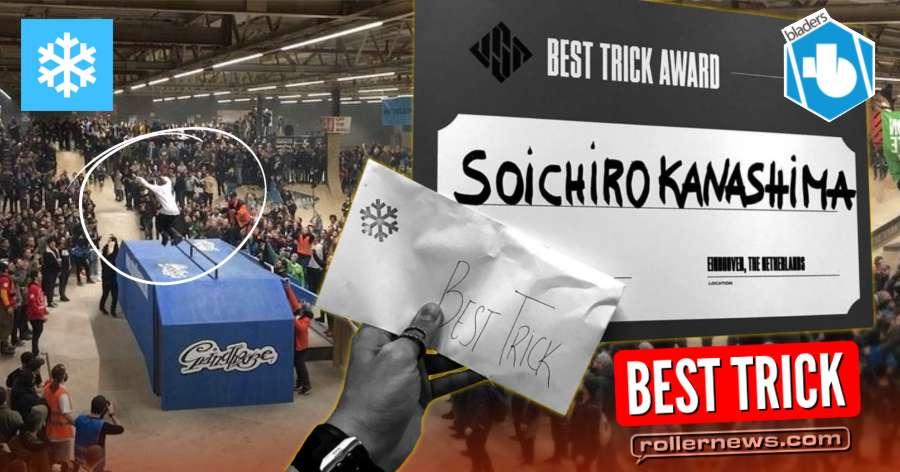 Soichiro Kanashima - Best Trick @ Winterclash 2018