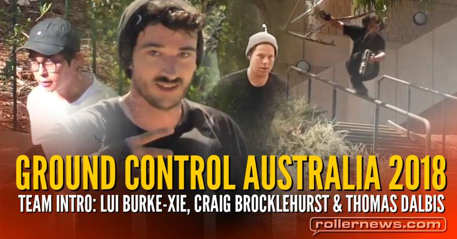 Ground Control Australia 2018 - Team Introduction by Glenn Beardmore