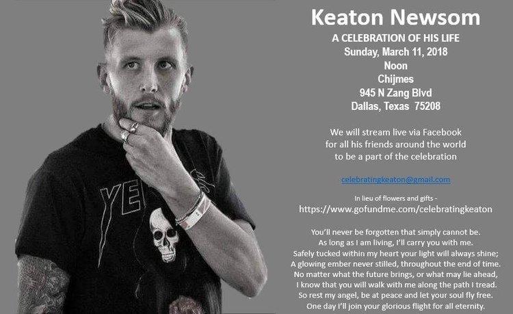 Keaton Newsom - A Celebration of his Life