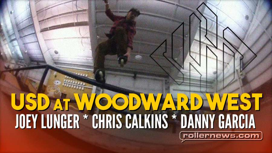 USD at Woodward West Open Ride (February 2018) with Joey Lunger, Chris Calkins, and Danny Garcia