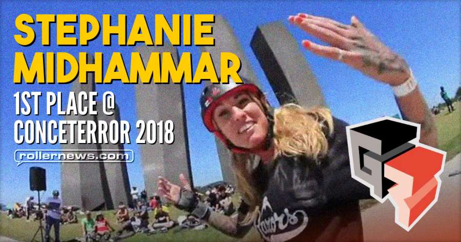 Stephanie Midhammar - 1st place @ Conceterror 2018 (Chile) - Golpe Roller Clips
