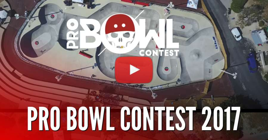 Pro Bowl Contest #9 (Marseille, France) - 2018 Flyer & 2017 Edit