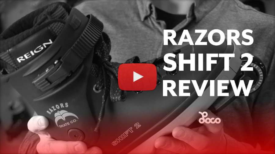 Razors Shift 2 Skates - Locoskates Review (2018) by Jake Elley