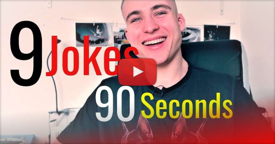 9 Rollerblading Jokes in 90 Seconds