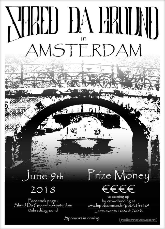 Shred Da Ground - Amsterdam Flyer (2018)